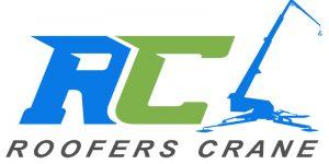 Roofers Crane Logo